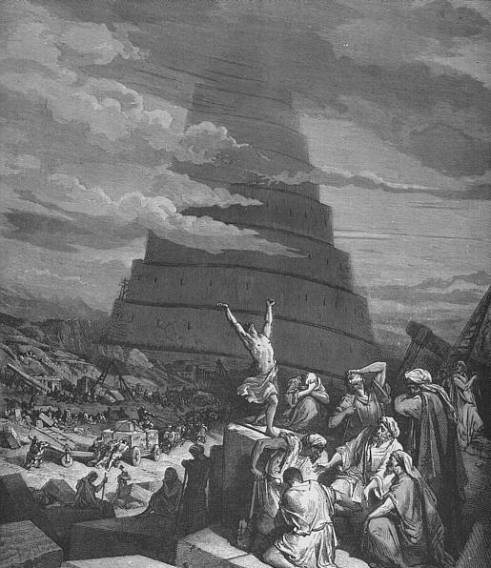 Babel by Gustave Doré
