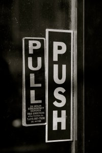 File:Door with both push and pull signs.jpg