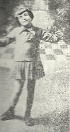 Français : Edith Piaf enfant