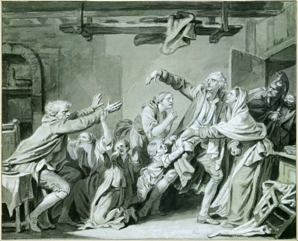 Ungrateful Son Jean-Baptiste Greuze
