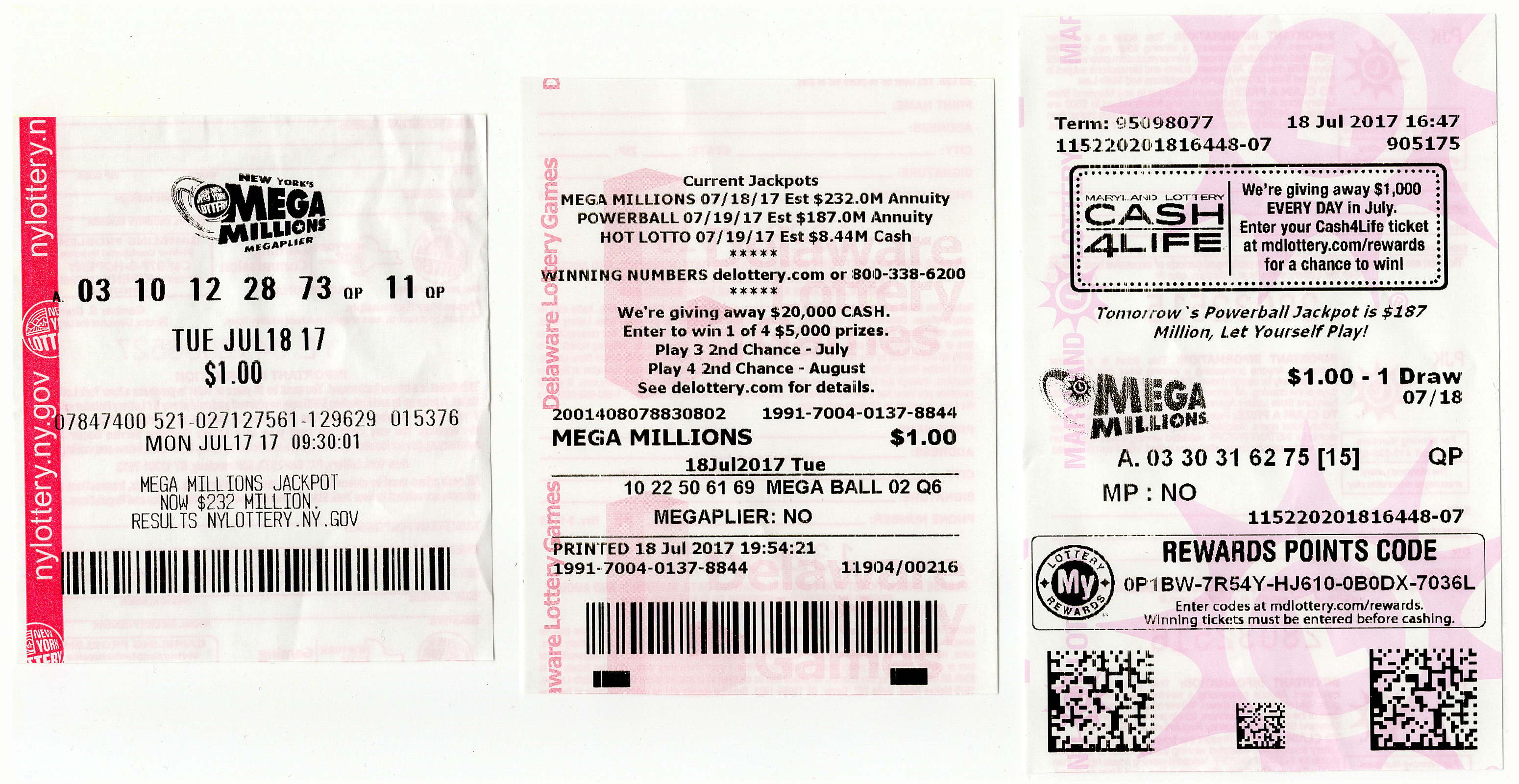 ny lottery drawing results