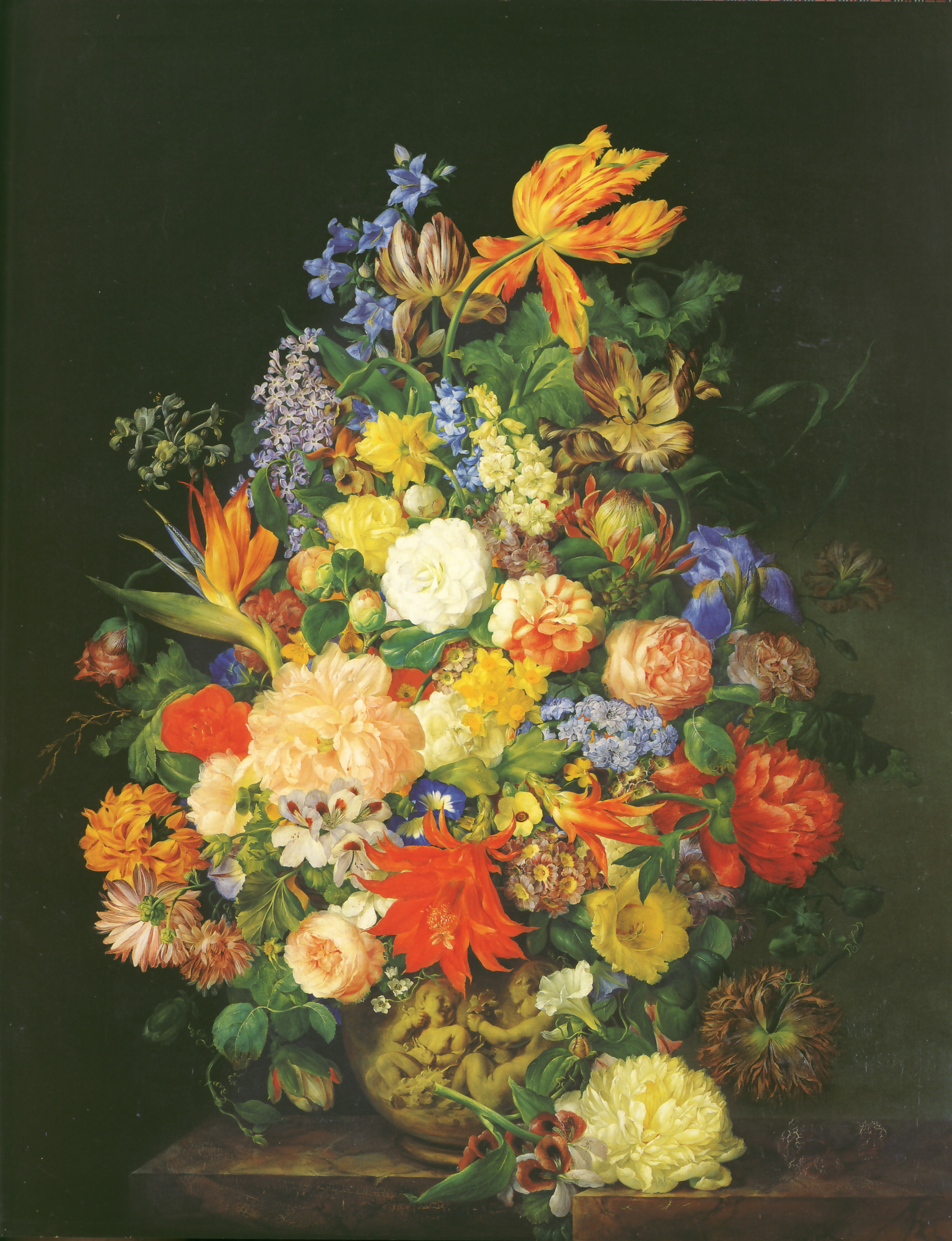 Petter Ein Blumenstrau in einer Vasejpg