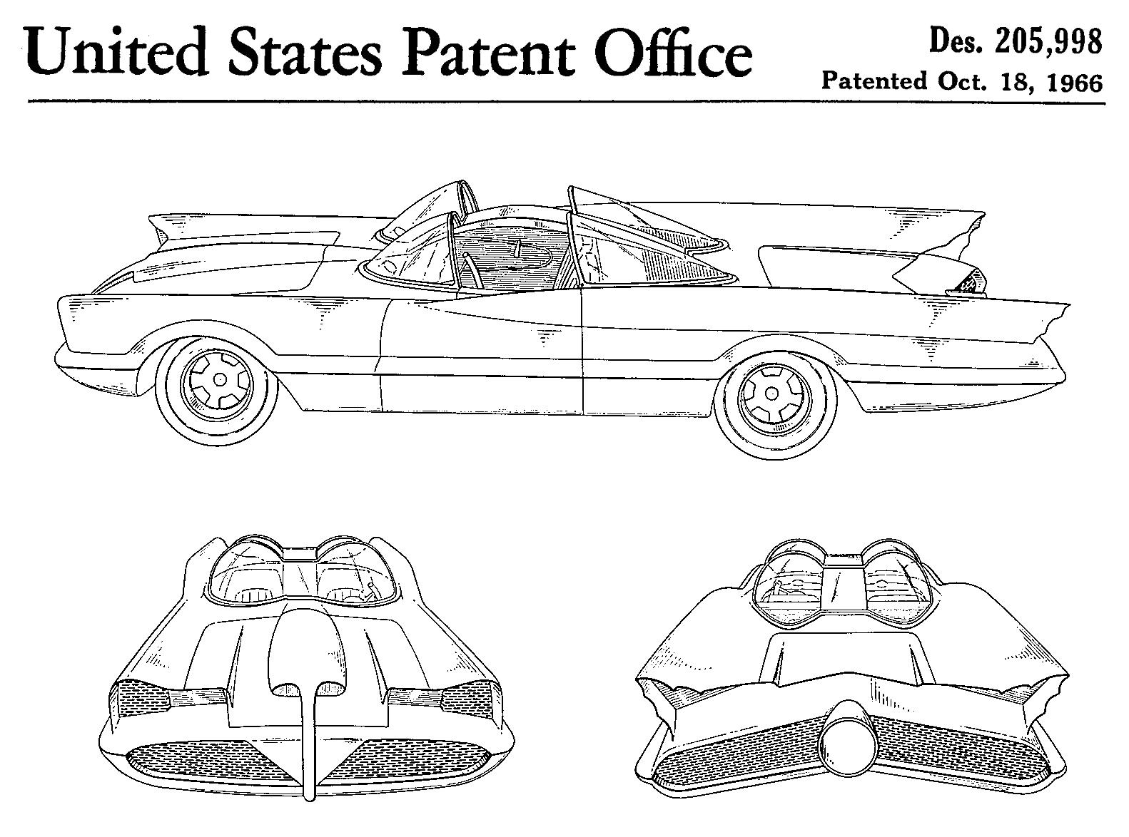 Batmobile Fictieve Auto