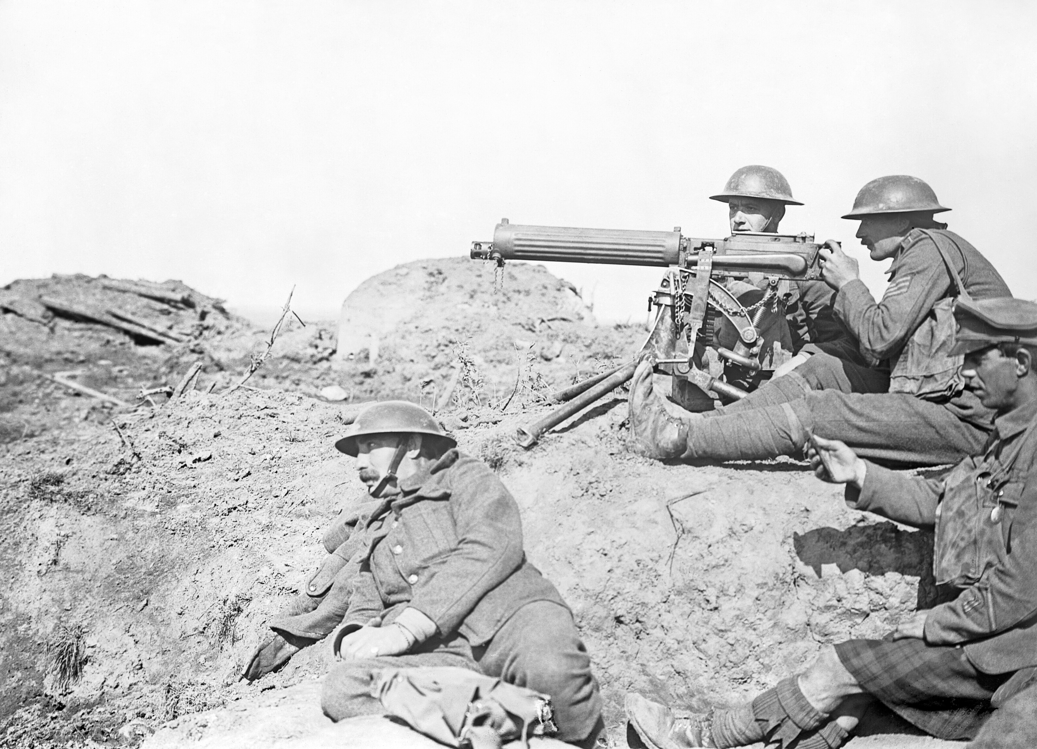 List Of Infantry Weapons Of World War I