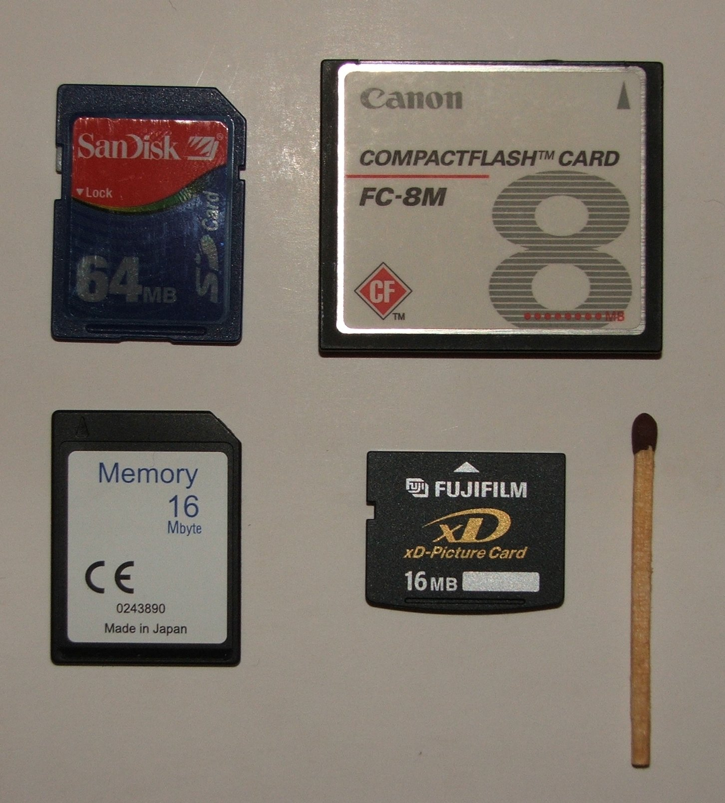 File:Flash memory cards size.jpg - Wikimedia Commons