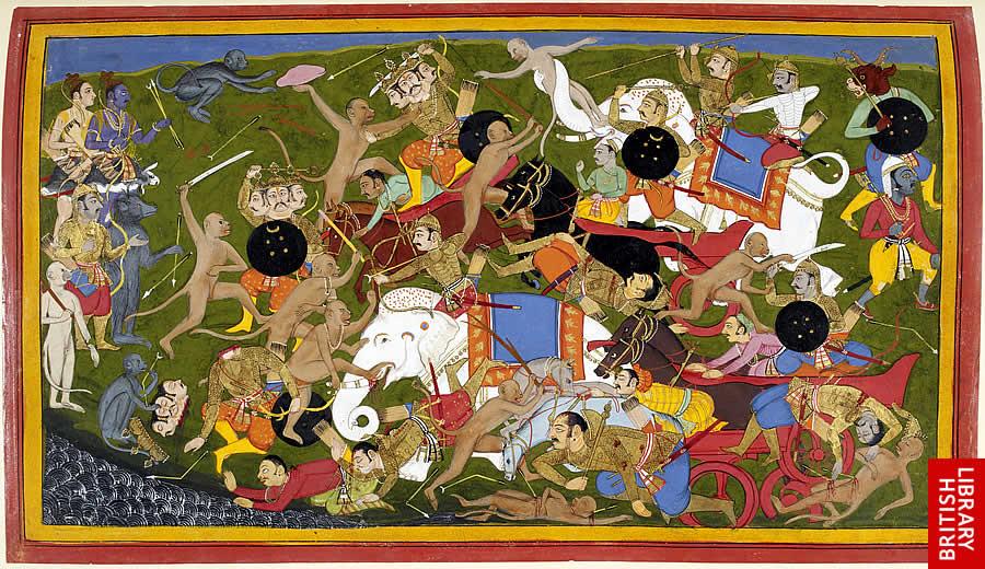 http://upload.wikimedia.org/wikipedia/commons/archive/a/a7/20090501055848!Battle_at_Lanka,_Ramayana,_Udaipur,_1649-53.jpg