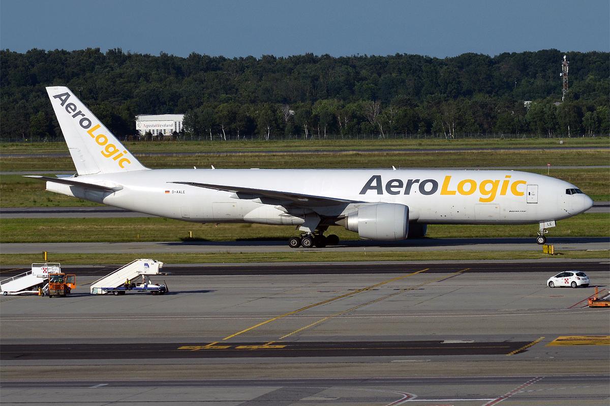 File:AeroLogic. D-AALE. Boeing 777-FZN (28461528455).jpg - Wikimedia Commons
