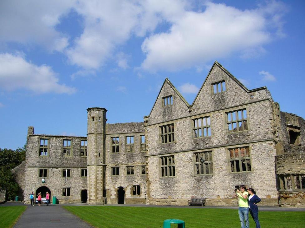 Courtyard of Dudley castle