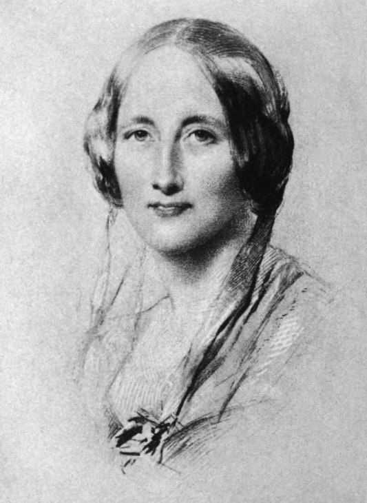 Elizabeth Gaskell, in portrait of 1851 by Geor...