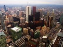 File Financial District Toronto Ontario Cn Tower