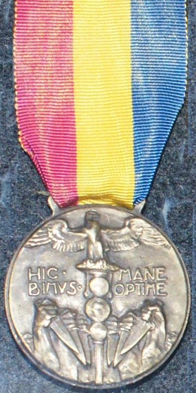 Medaglia commemorativa della spedizione di Fiume  Wikipedia