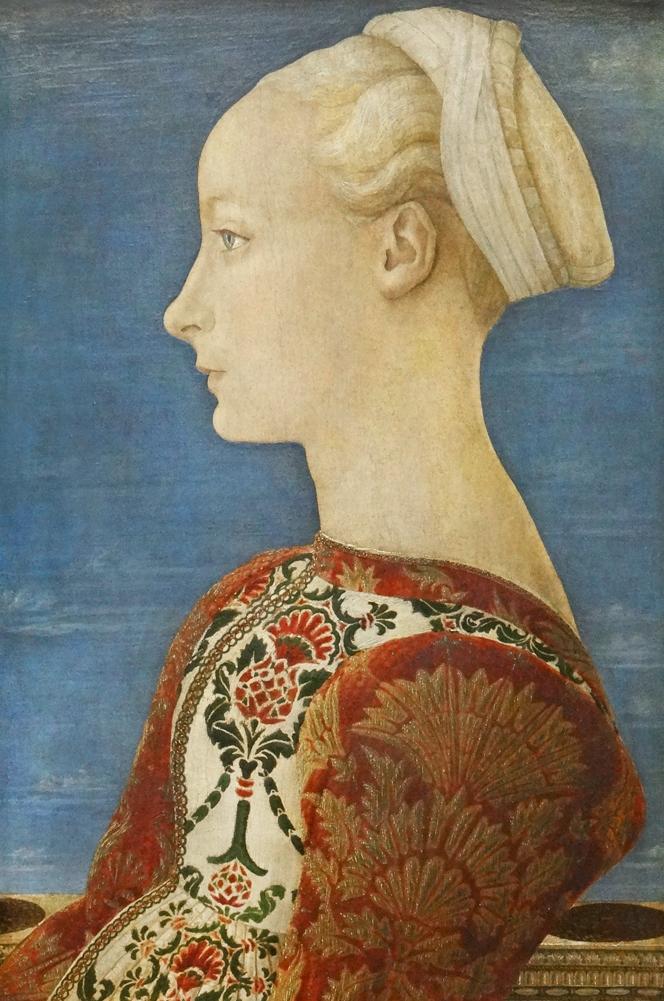 FilePortrait dune jeune femme de profil Gemldegalerie