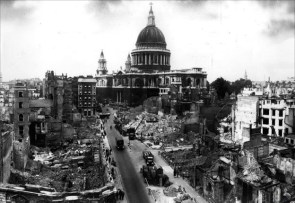 Blitz, Resilience, Biddy Chambers, Oswald Chambers, My Utmost for His Highest, crematorium of England's books, St. Paul's Cathedral, London WWII
