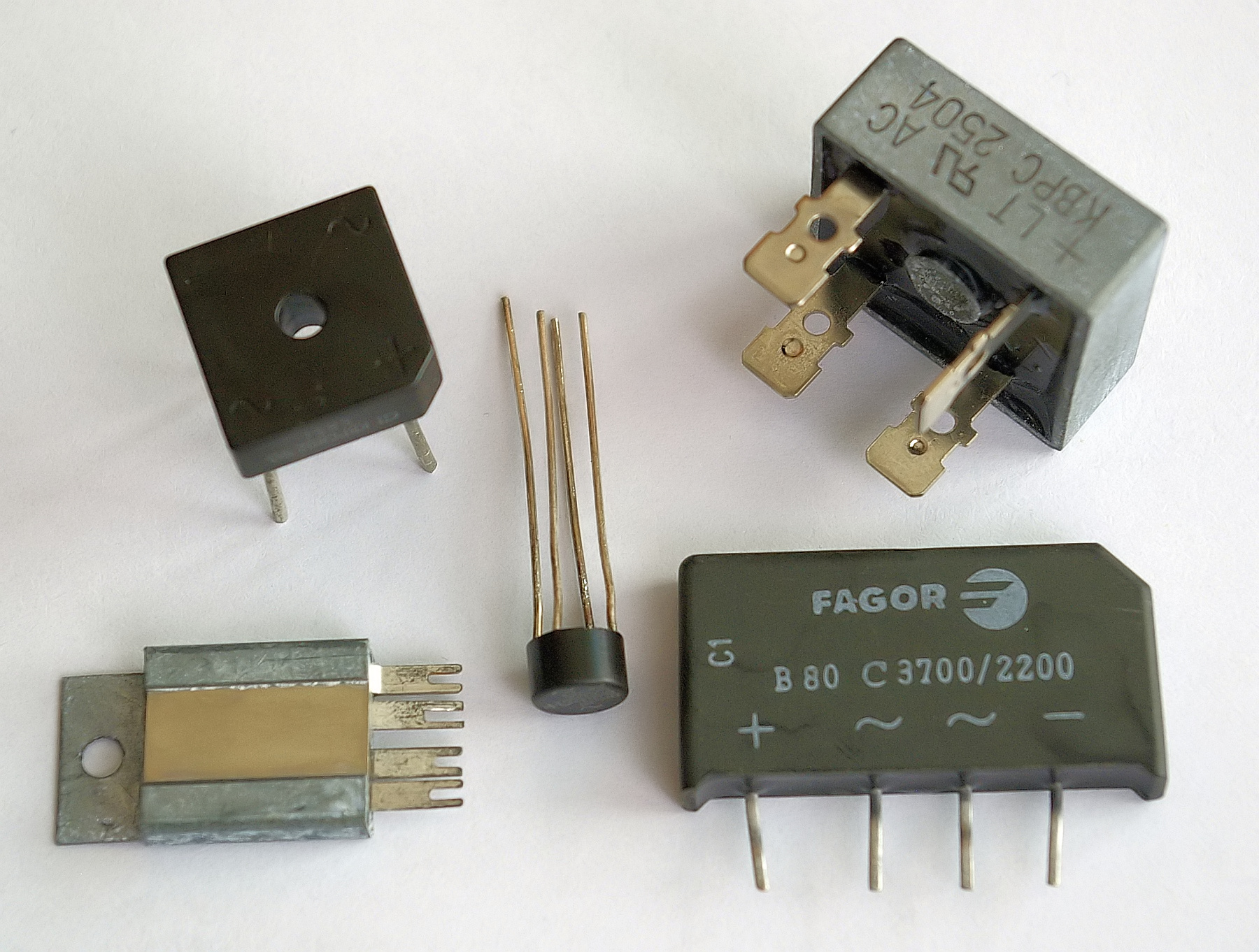 hight resolution of diode bridge