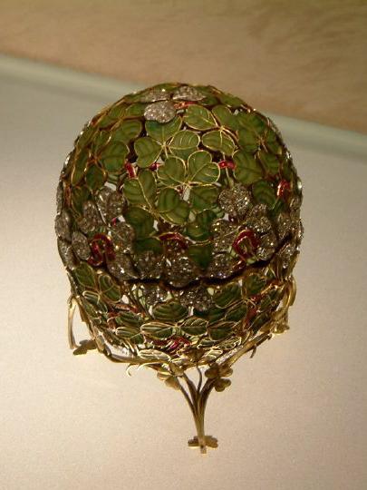 Clover Leaf Faberg 233 Egg Wikipedia