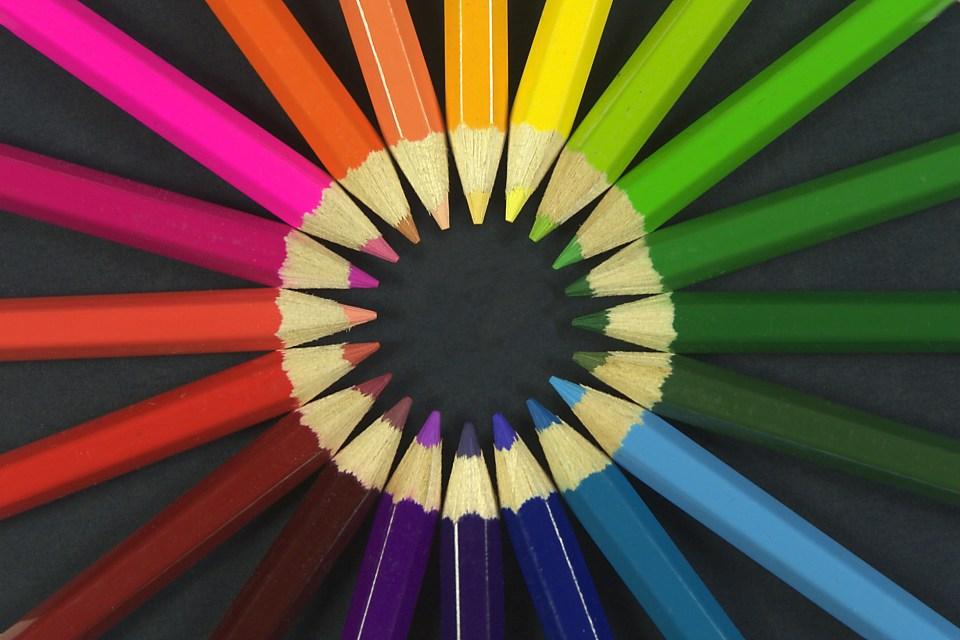 la percepción del color