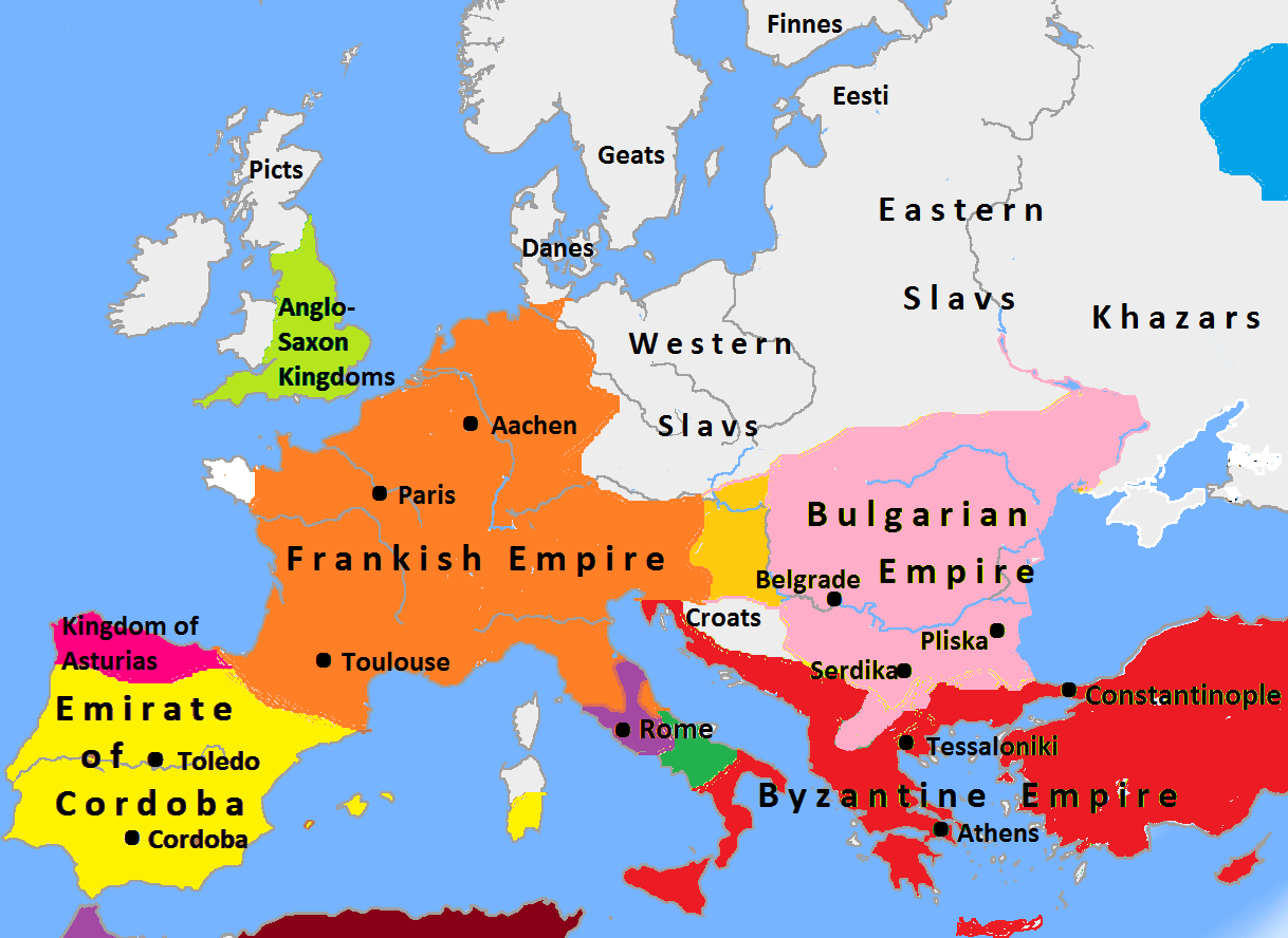 File Europe In 814 Map