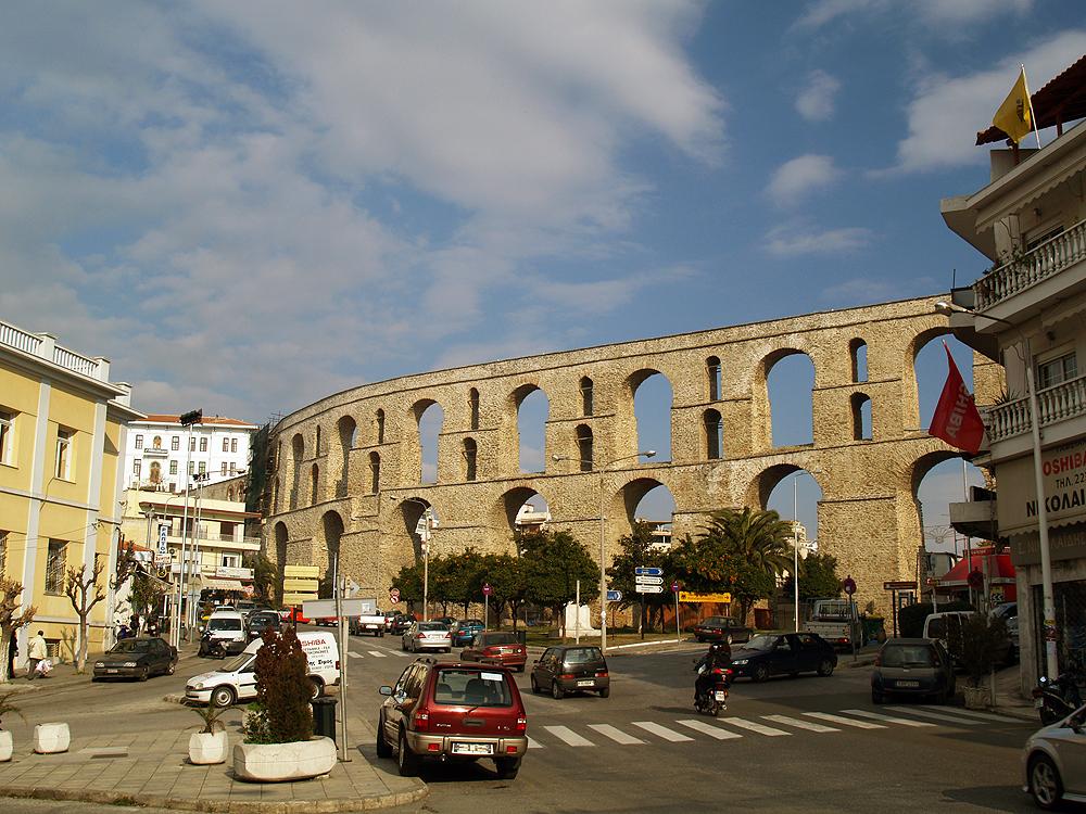 Kavala aqueduct  Wikipedia