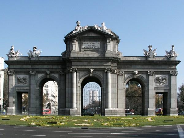 Madrid Puerta De Alcala