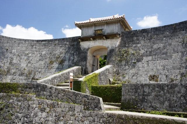 Kyukeimon Gate of Shuri Castle