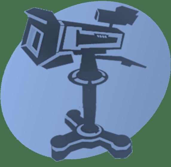 P TV Camera