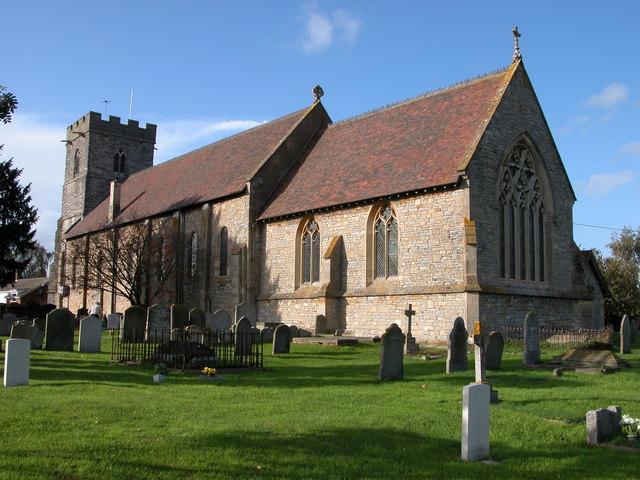 Photo of Twyning church