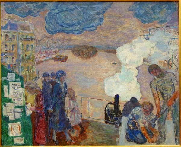File Workers Pierre Bonnard . 1916-1920 Oil