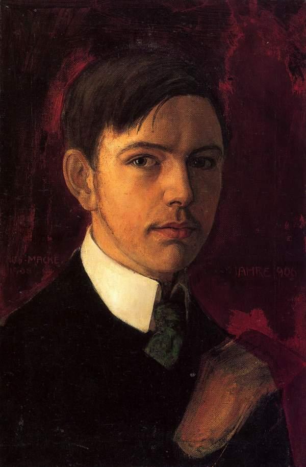 Self Portrait August Macke