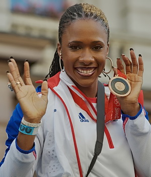 Tasha Danvers, British Olympic athlete.
