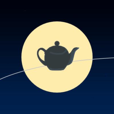 English: Russell's Teapot Español: Tetera de R...