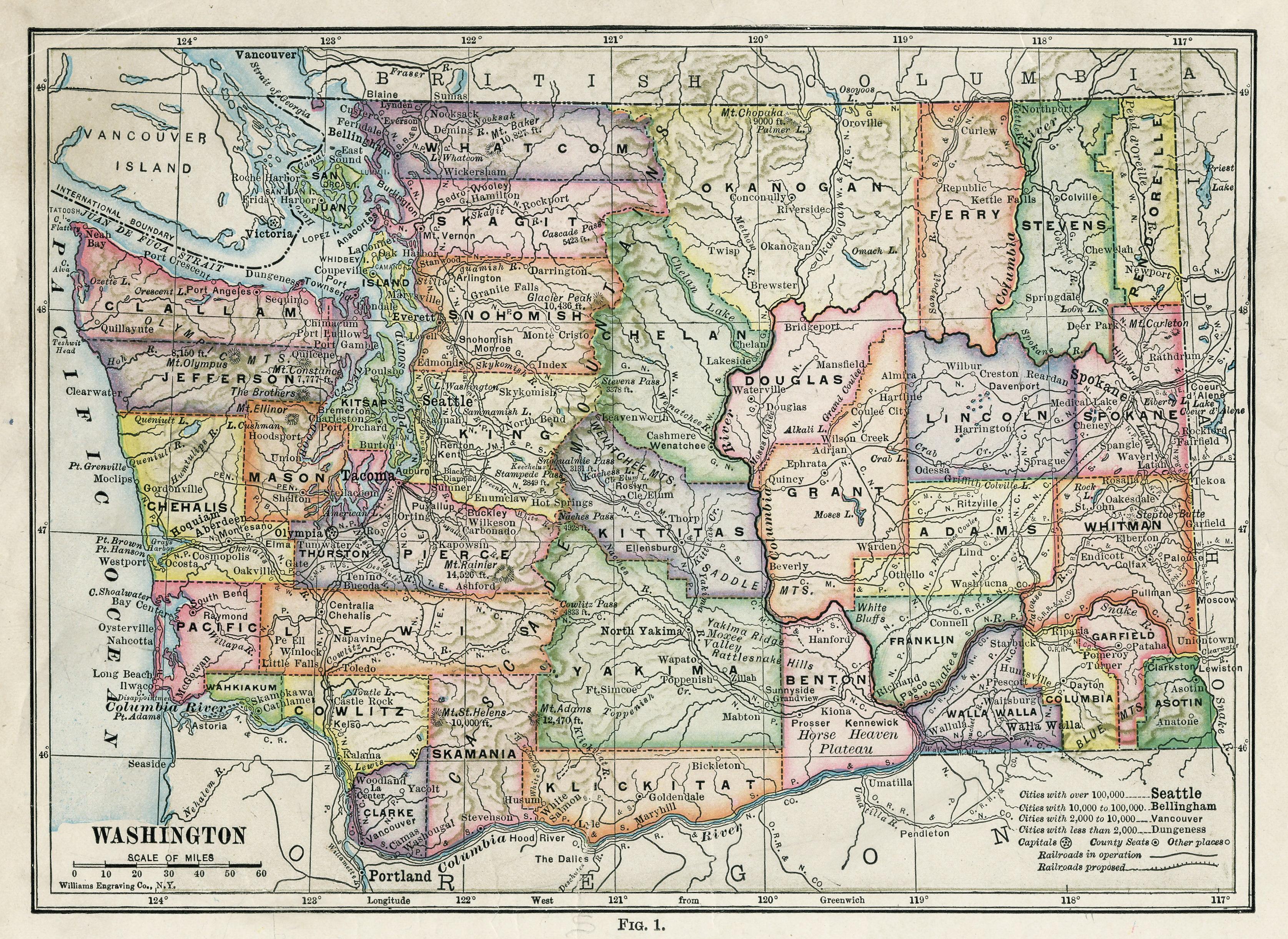 File Washington State Map