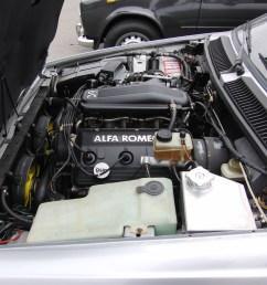 file alfa romeo gtv6 engine bay jpg [ 3456 x 2592 Pixel ]