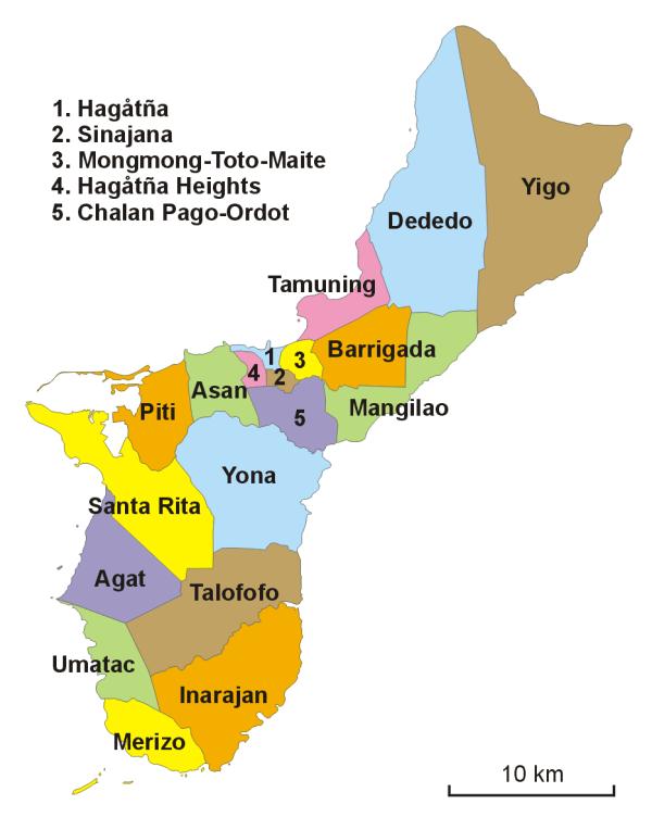 Villages of Guam Wikipedia