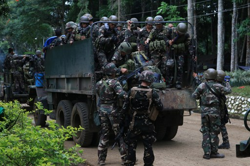 Marawi crisis troops