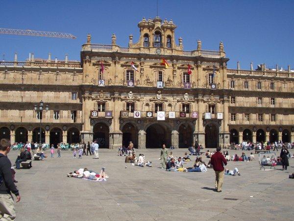 La Plaza Mayor Salamanca