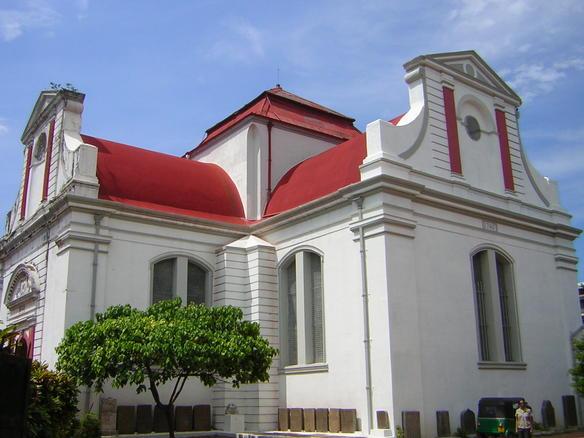 Wolvendaal Church, Church in Colombo