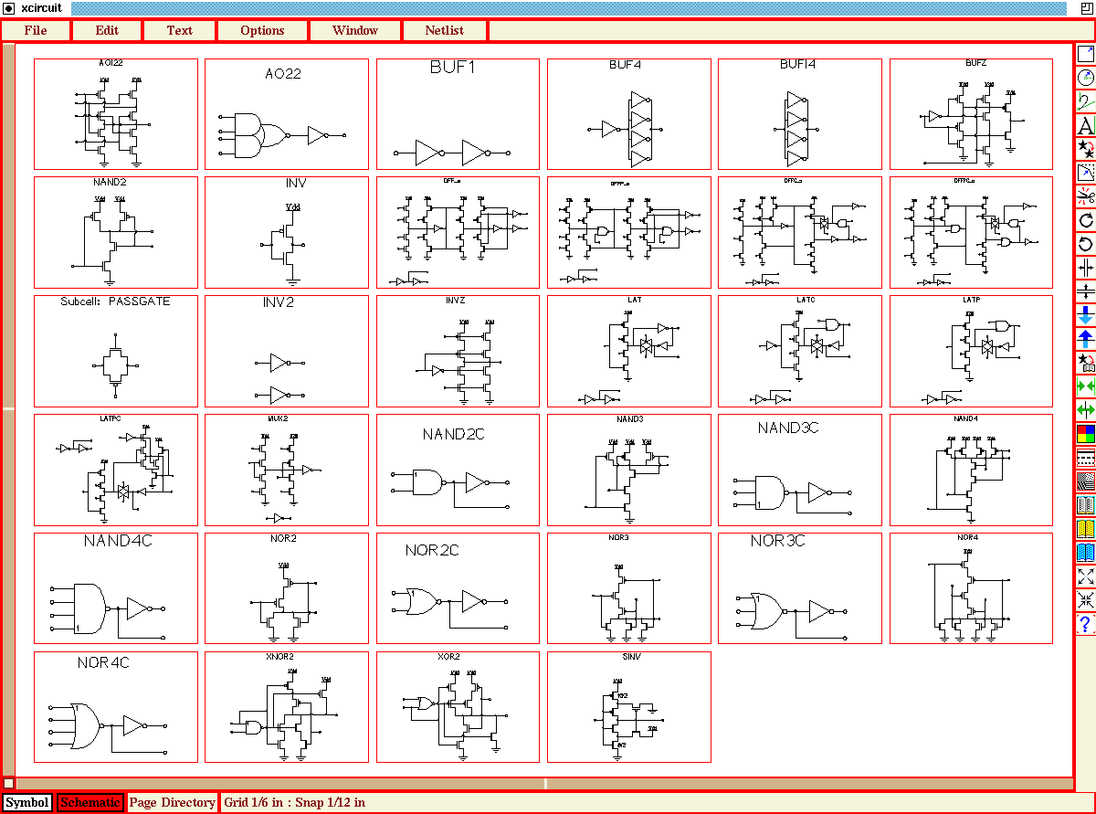 hight resolution of xcircuit