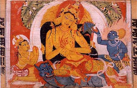 File:Astasahasrika Prajnaparamita Manjusri Bodhisattva.jpeg