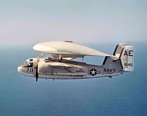 E-1B VAW-121 CVW-6 CVA-42