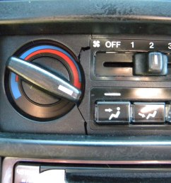 cracked climate control the best resource for honda crx  [ 2592 x 1944 Pixel ]
