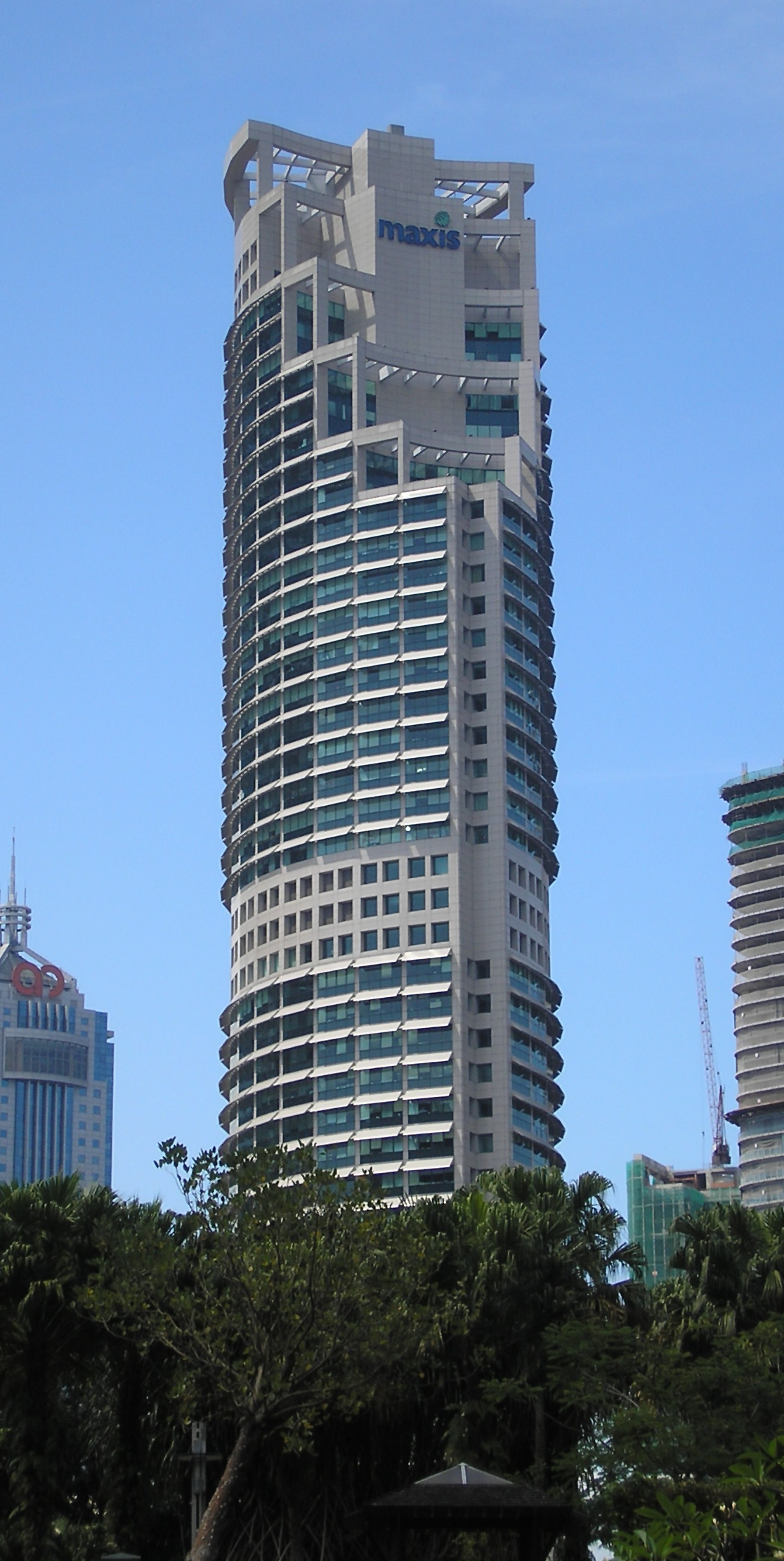 Maxis Tower  Wikipedia
