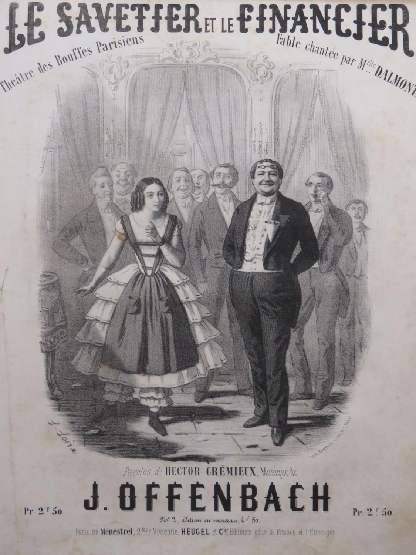 Le Savetier Et Le Financier : savetier, financier, File:Offenbach, Score, Savetier, Financier