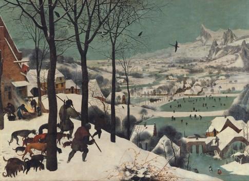 Brueghel el viejo, Cazadores en la nieve, winter