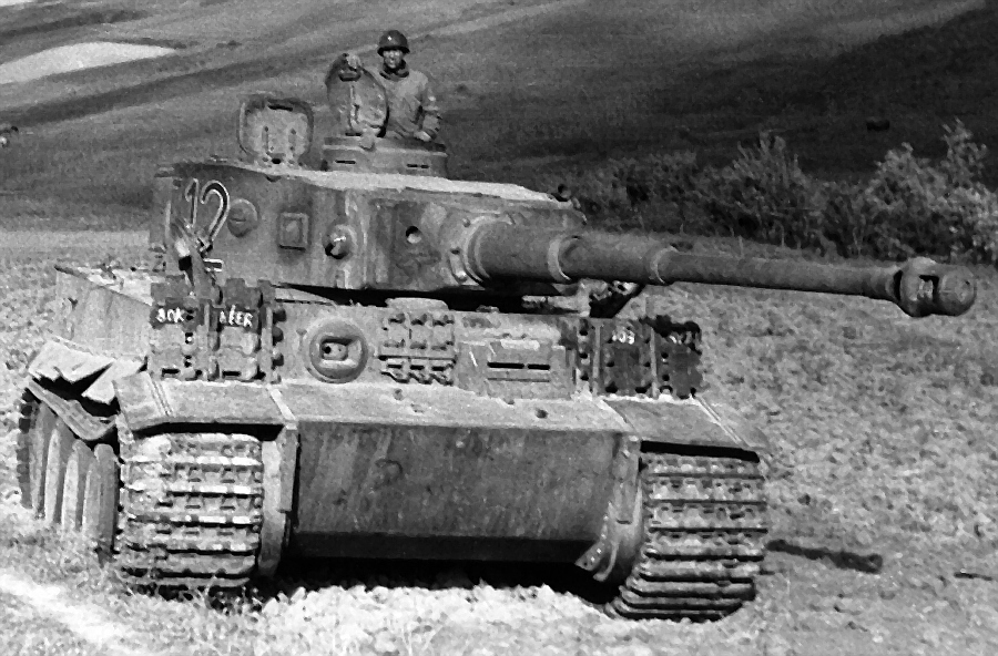 German Tiger I of the 501st heavy tank battali...