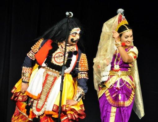 Image result for bhasmasura mohini tableaux