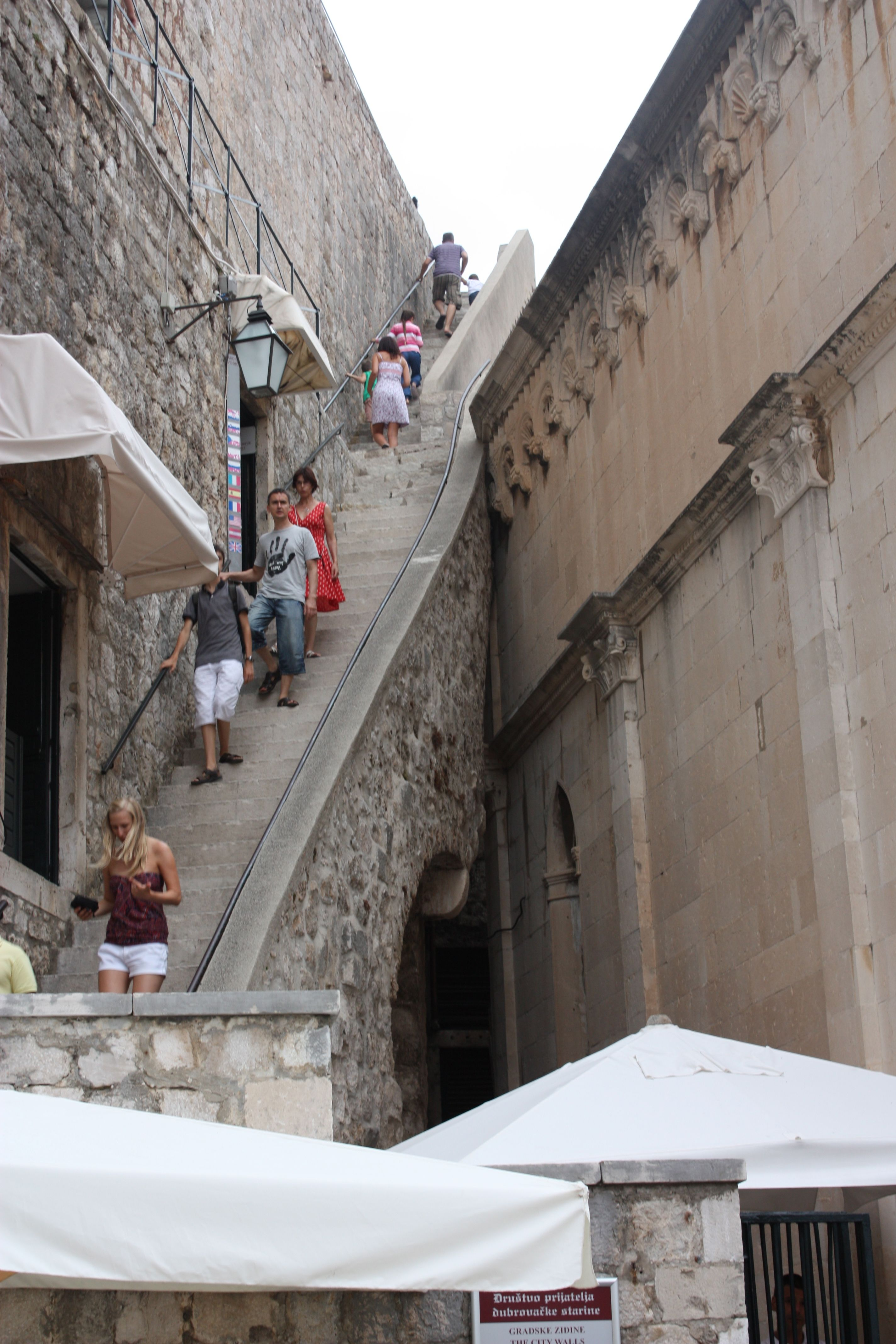 FileCity Walls Dubrovnik July 2011 01jpg  Wikimedia Commons