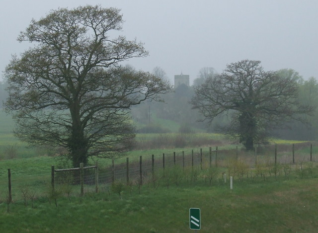 File:Country church tower - geograph.org.uk - 773041.jpg