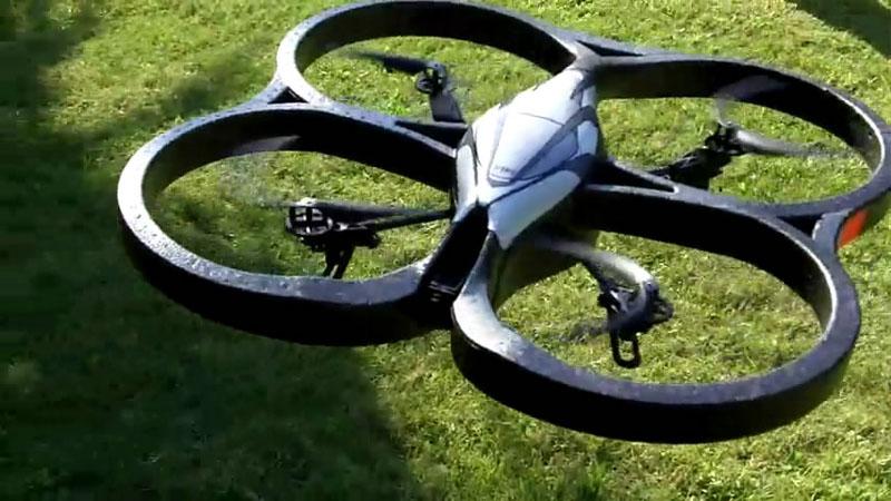 AR.Drone en vuelo