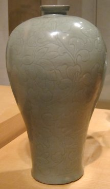 File Korean Plum Blossom Vase Koryo Dynasty Early 12th