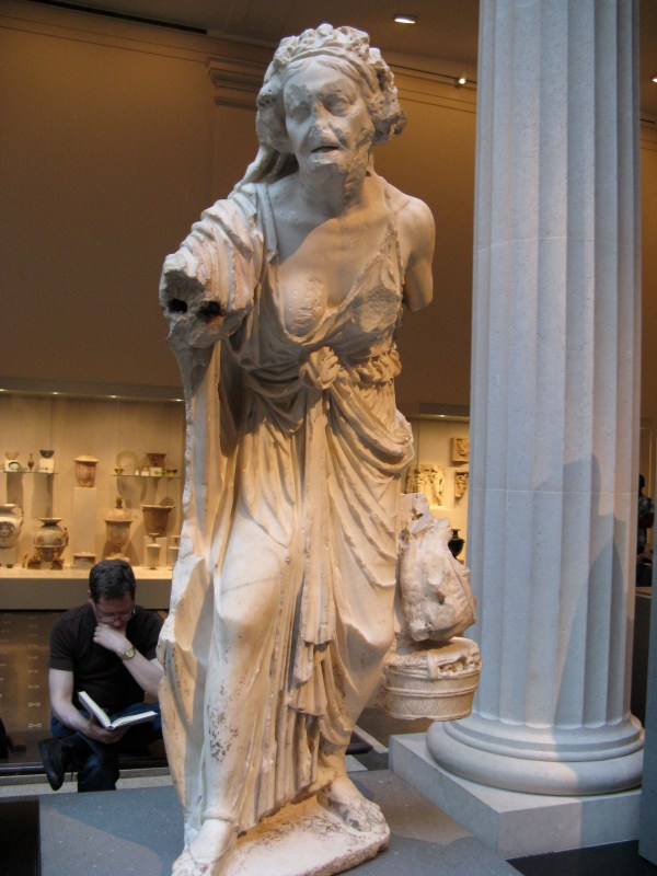 File Marble Statue Of Woman-metropolitan Museum - Wikimedia Commons